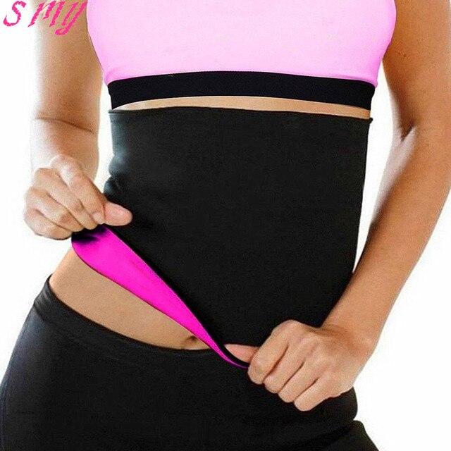 d55ecb86684 Hot Sweat Women   Men Stomach Waist Trainer Shapewear Neoprene Body Shaper  Slimming Belt Waist Cincher Girdle For Weight Loss