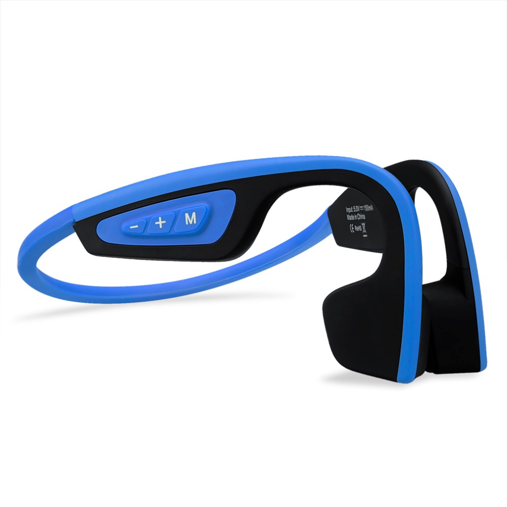 48 Hours S.Wear LF-19 Bone Conduction Wireless Headphones Stereo Bluetooth Sports Headset with mic For Tranning Earphones picun p3 hifi headphones bluetooth v4 1 wireless sports earphones stereo with mic for apple ipod asus ipads nano airpods itouch4