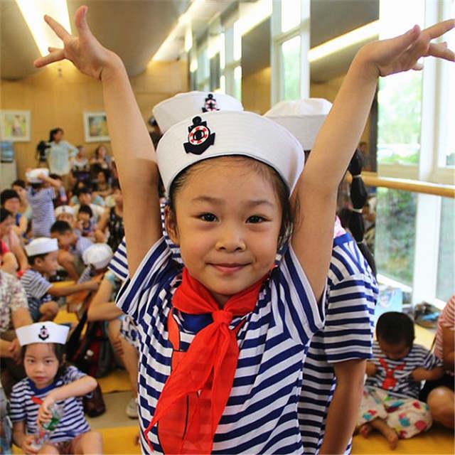 87134b87a Online Shop Military Hats Sailors Captain White Hat Navy Marine Cap ...