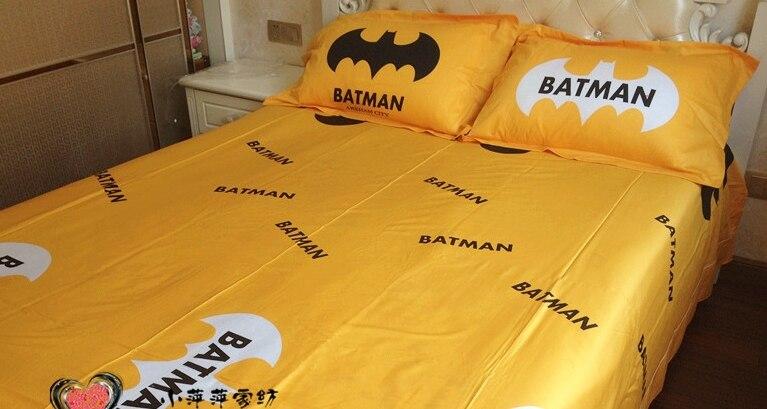 Cotton Home Textiles Batman Bedding Set Sheets 3d Twin Full Size