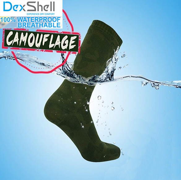 Men high quality knee high breathable merino wool coolmax hunting waterproof windproof Camouflage military outdoor sports