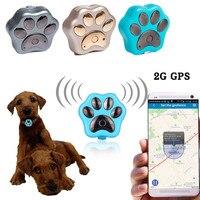 2018 New RF V32 Wireless Charging Pet GPS Waterproof Intelligent Locator 2G Tracker Pet WIFI Anti lost Mini GPS
