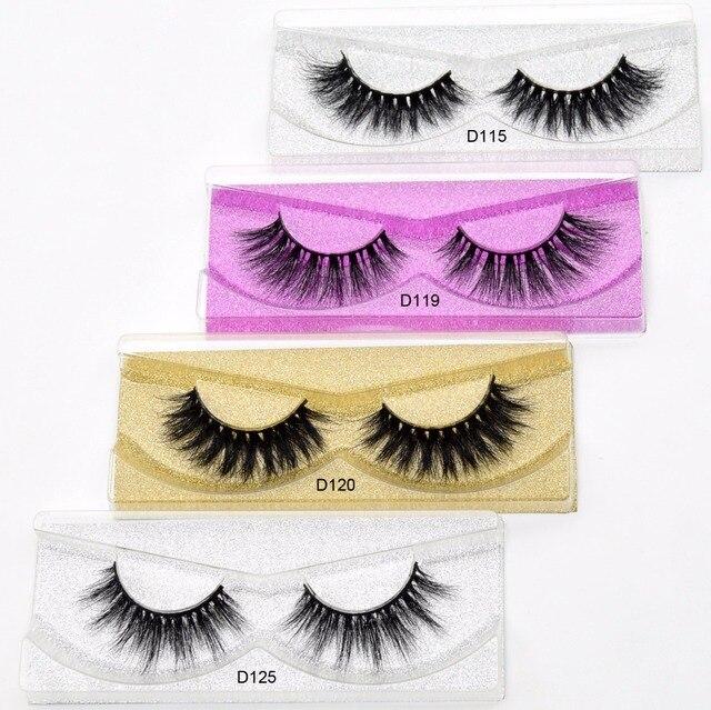 0e29f6c1d06 Visofree Eyelashes 3D Mink Lashes Medium Volume Handmade Reusable Cruelty-free  Mink False Eyelashes Extension