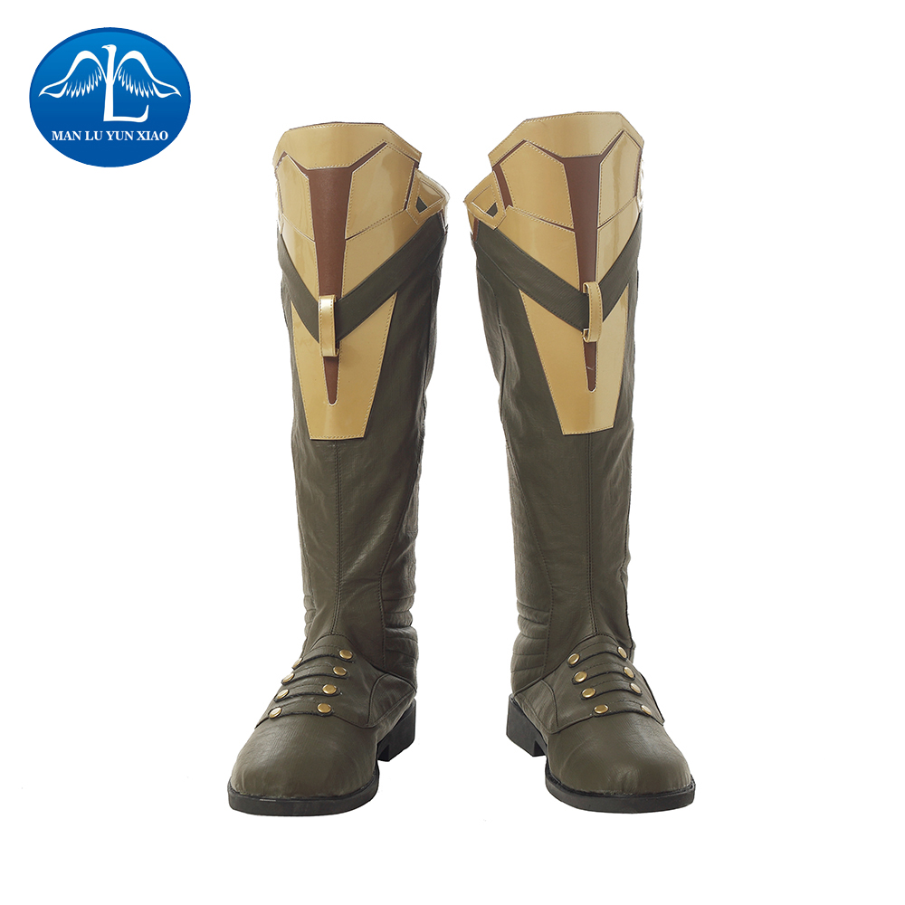 MANLUYUNXIAO New Men's Avengers: Infinity War Thanos Cosplay Boots PU Leather Carnival Cosplay Boots Halloween Prop For Adult топливная форсунка 0434250162 0 434 250 162 dn0sd301