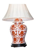 Hand Painted Table Lamp CD023517 CD024317