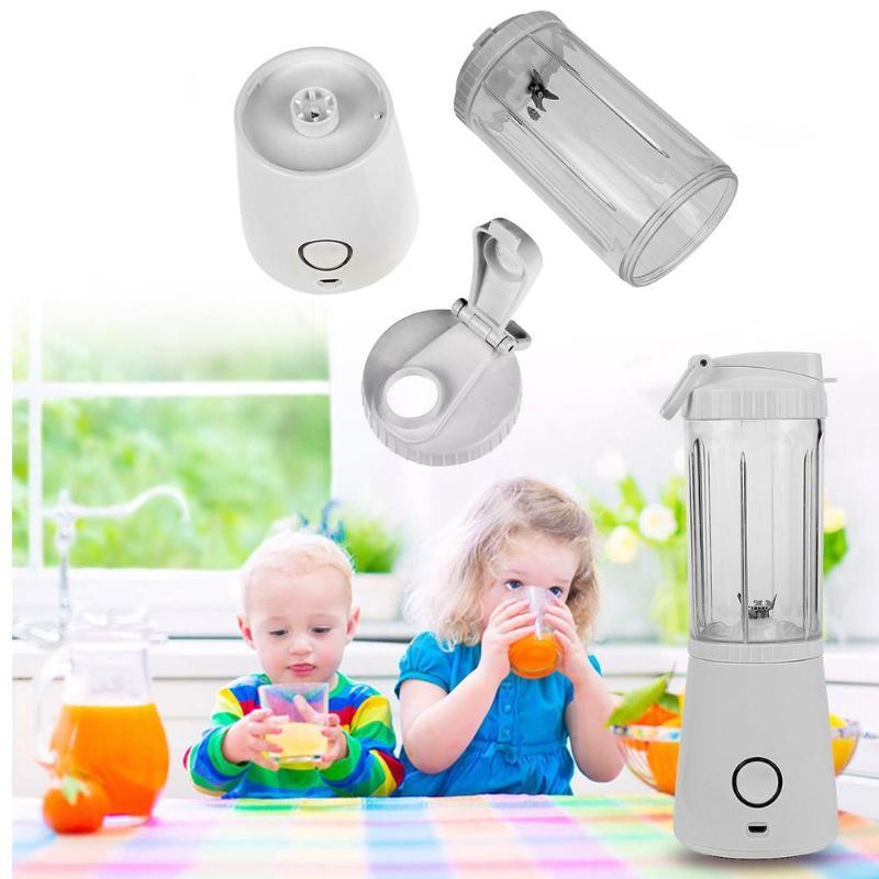 280ML USB Electric Fruit Juicer Handheld Blender Rechargeable Water Bottle Vegetable Juicer Portable Manual Juicer