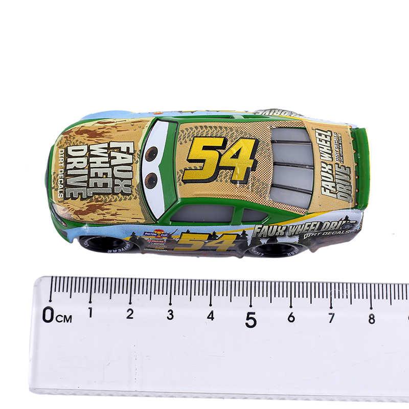 Baru Disney Pixar Cars 2 Kendaraan MCQUEEN Raja Cars Storm Ramirez 1:55 Logam Paduan Model Mobil 3 Mainan untuk anak-anak Hadiah Ulang Tahun