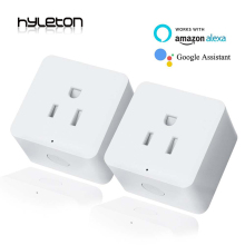 2 Pack Hyleton smart plug 10A Home Automation wifi socket Remote Control power switch Working with Amazon Alexa and Google US/UK