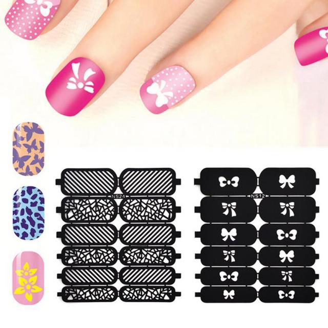 3d cute heart star butterfly hollow out template sticker nail art 3d cute heart star butterfly hollow out template sticker nail art stickers stencil decor nail art prinsesfo Choice Image