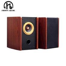 HIFI аудио динамик 2 шт 4 дюйма полный диапазон динамик квадратный полный диапазон спикер коническая пуля литье корзина 4ом 8ом 25 Вт аудио