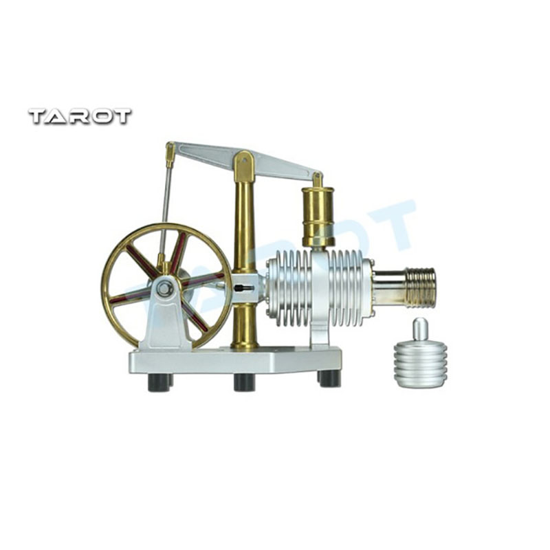 Tarot TL2962 Stirling Engine Motor Model Physical Educational Equipment Educational Toy Kits diy low temperature stirling engine educational puzzle toy kit silver