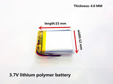 Liter energy battery 3.7V polymer lithium battery 401215 MP3 MP4 60MAH Bluetooth headset small toy sound