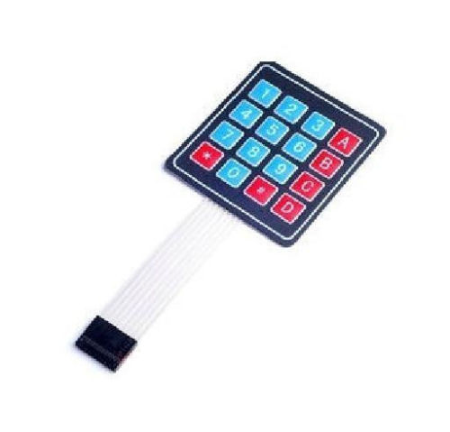 цены 4x4 Matrix 16 Key Membrane Switch Keypad Keyboard for Arduino/AVR/PIC/ARM