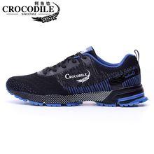 Кроссовки крокодиловые сетчатые для мужчин и женщин амортизирующие