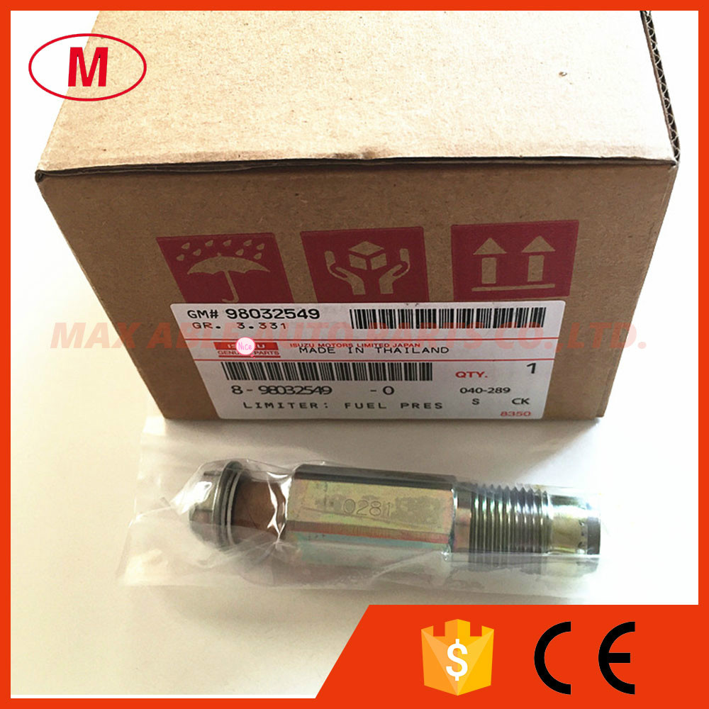 D EN SO Original Fuel pressure limiter Relief regulator valve 98032549 8 98032549 095420 0281 0954200281