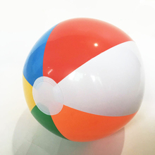1PCS 30CM Color Globe Inflatable Beach Ball PVC Six Children globe ball