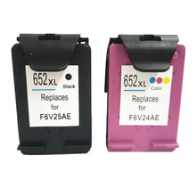 vilaxh 652 652XL  Ink Cartridge Compatible For hp Deskjet 1115 1118 2135 2136 2138 3635 3636 4535 4536 4538 4675 printer 2pcs xiongcai compatible ink cartridge for hp 652 deskjet 1115 2135 2136 2138 3635 3636 4536 4535 printer cartridge for hp652