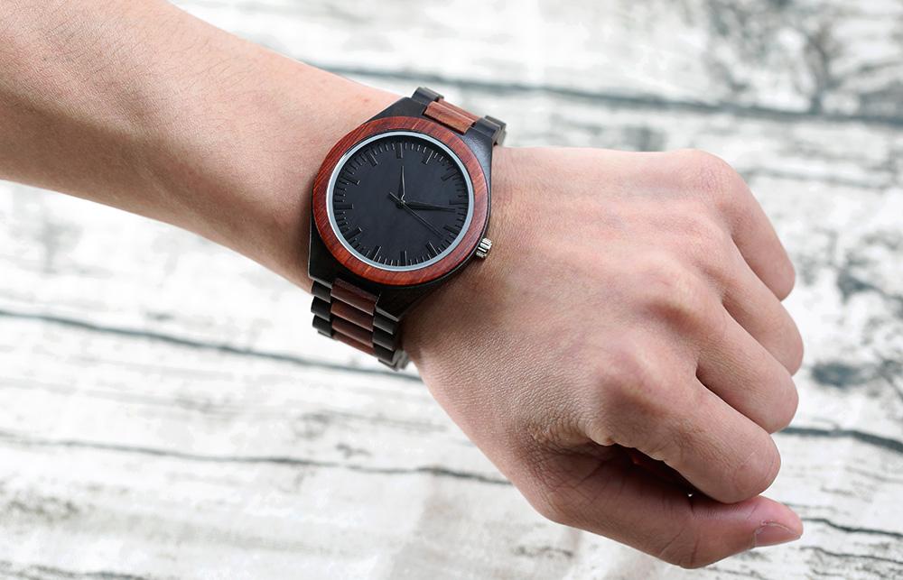 Full Wooden Watches Man Creative wristwatch  (17)