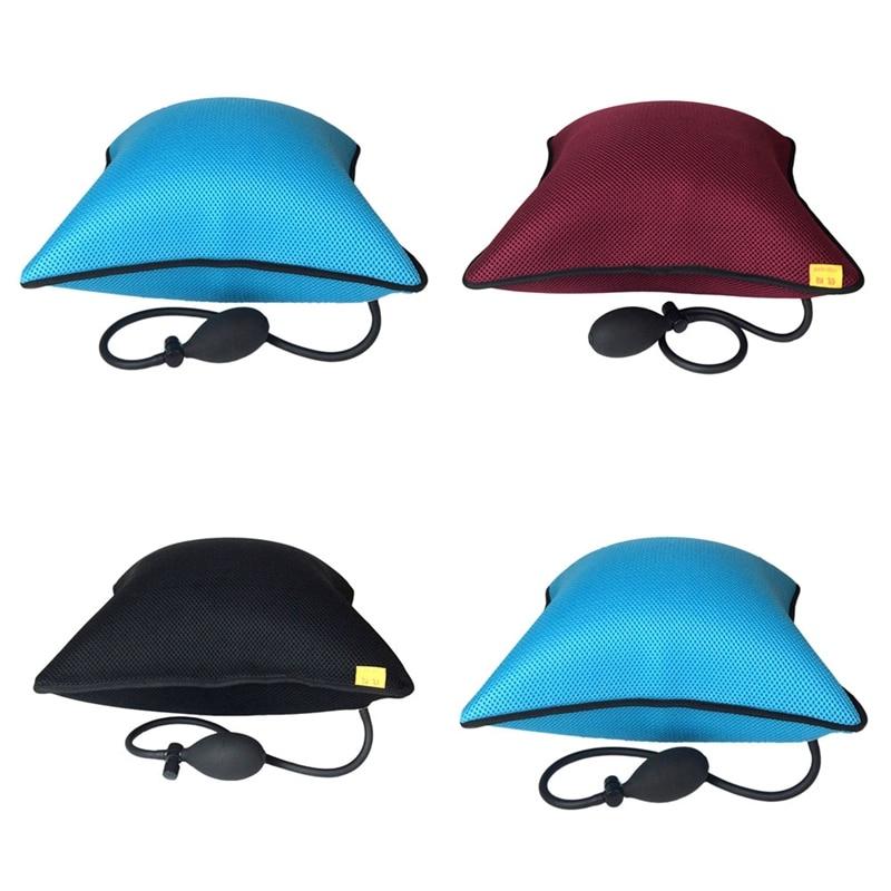 Waist Lumbar Support Lumbar Back Inflatable Cushions Car Breathable Waist Summer Outdoor Travel Pillow Portable Styling