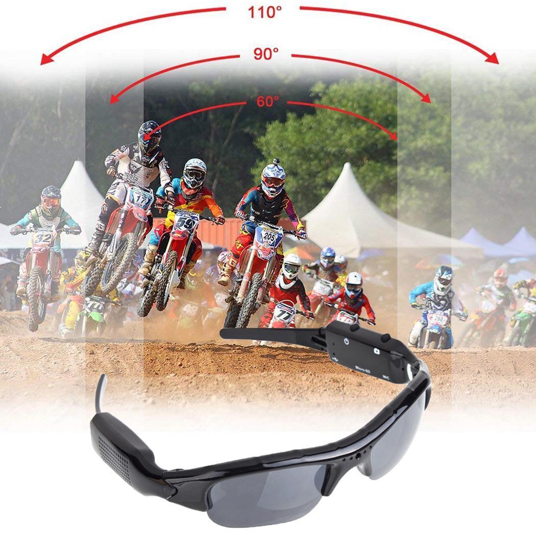 Sunglasses Camera 1280x960 Digital Eyewear DV DVR Video Recorder Outdoor Sports Support TF Card Sport Camcorder(China)