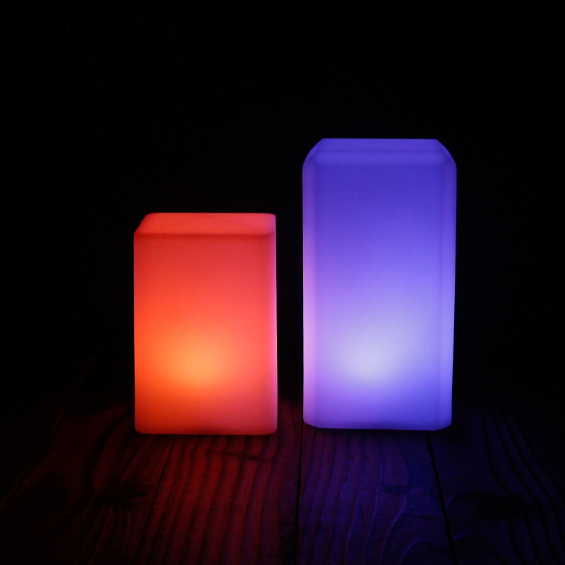 LED Night light RGB colorful Remote Sensor table lamp USB rechargeable nightlight For bedroom Leds home decor Luminary Lampara meaningsfull colorful diamond usb projector led night light sperker 7 color illusion luminaria sleepling lamp for bedroom decor