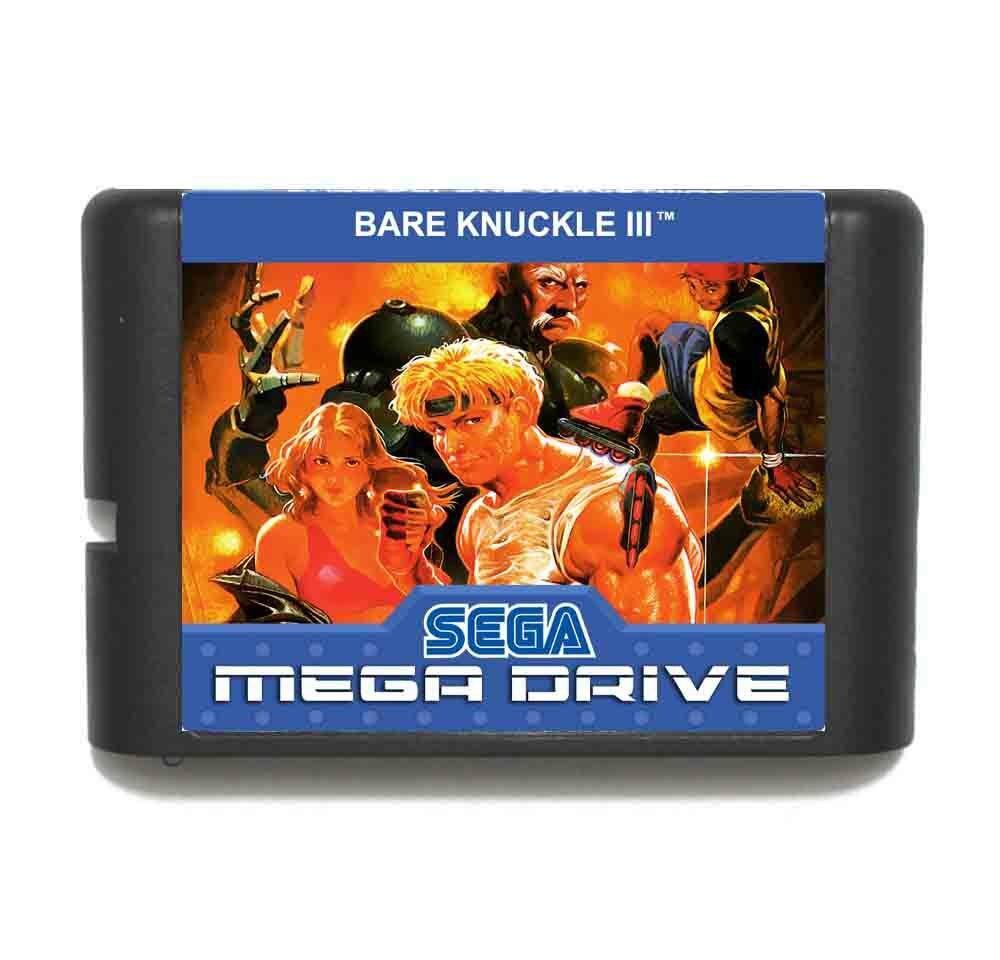 Bare Knuckle III 16 bit MD Game Card For Sega Mega Drive For GenesisBare Knuckle III 16 bit MD Game Card For Sega Mega Drive For Genesis