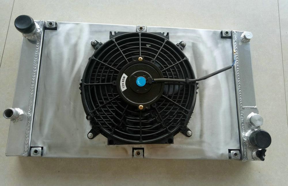 ALUMINUM RADIATOR FAN for PORSCHE 944 2.5L //2.7L MT NON-Turbo 1983-1988 SHROUD