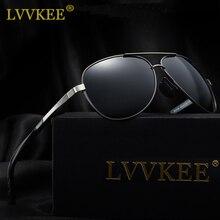 LVVKEE New Brand leisure Men's Sunglasses HD Polarized Car Driving Sun Glasses for women gafas oculos de sol masculino With Box
