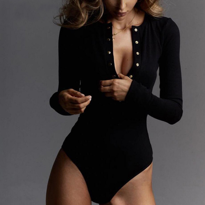 2019 Tops bodysuit sexy costumes rompers/bodysuit womens   jumpsuit   bodie for women combinaison femme   jumpsuits   shein mono mujer