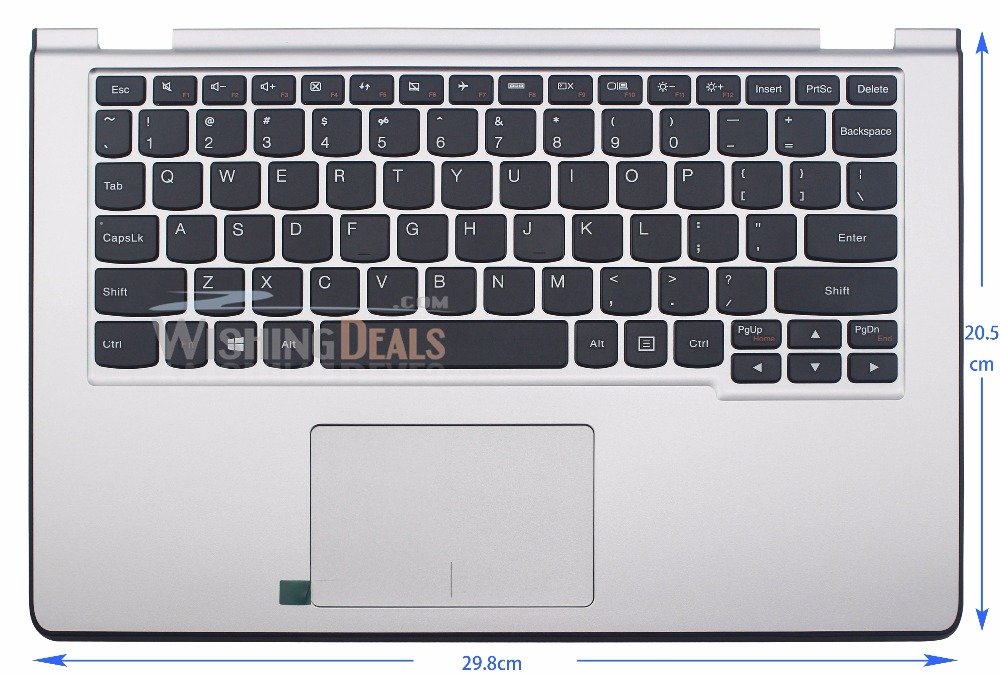 New for Lenovo IdeaPad Yoga 2 11 US Keyboard with silver C