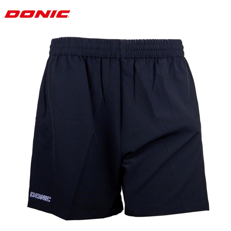 DONIC Table Tennis Shorts for men / woman training absorb sweat comfort top quality ping pong clothes sportswear shorts(China)