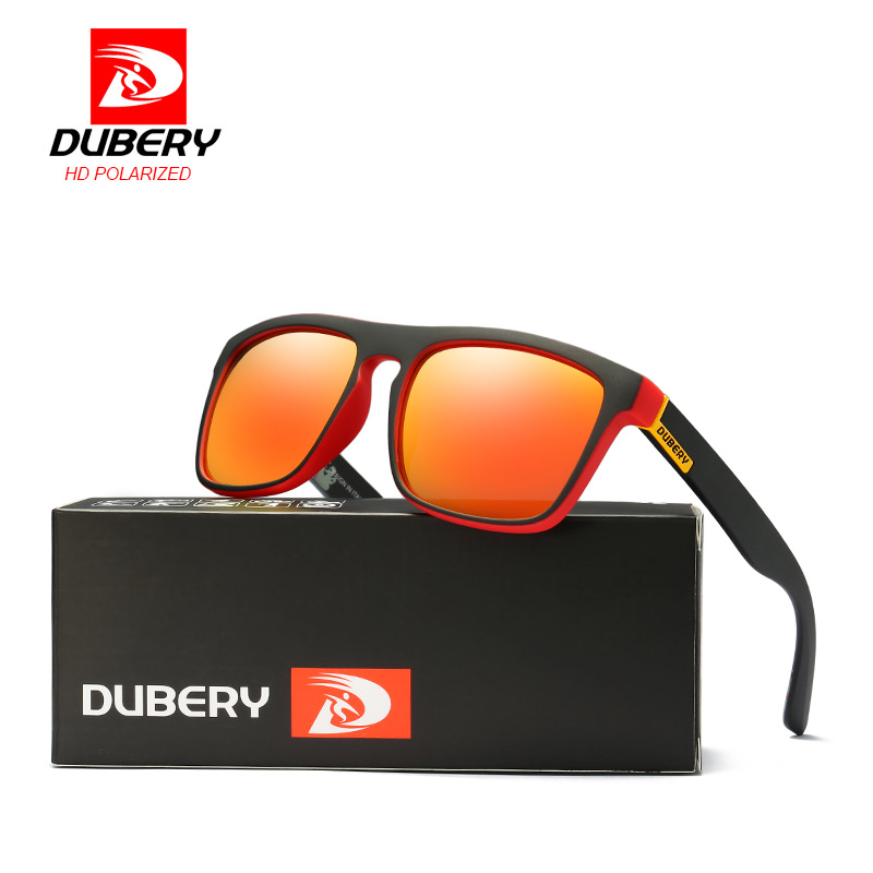 DUBERY Polarized Sunglasses Men's Driving Shades Male Sun Glasses For Men zonnebril mannen Eyeglasses Sunglasses Oculos Barato