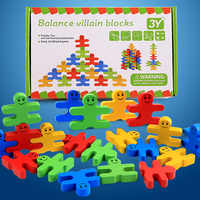 Kinder puzzle Cartoon Balance bösewicht puzzles 16 stücke kreative holz Baby intelligenz kinder frühe bildung Balance puzzles spielzeug