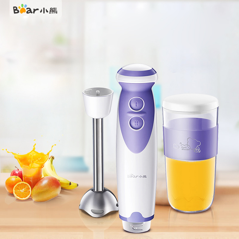 Bear JBQ-D1355 Cooking Machine Multifunction Baby Feeding Machine Handheld Stir Bar Home Electric Food Stir Stir BarBear JBQ-D1355 Cooking Machine Multifunction Baby Feeding Machine Handheld Stir Bar Home Electric Food Stir Stir Bar