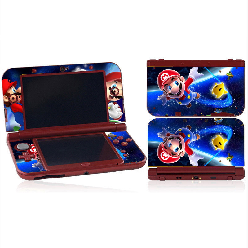 Super Mario Protector Vinyl Skin Sticker for Nintendo NEW 3DS XL Decal Cover For NEW 3DS LL