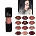 Fosco batom líquido Hidratante Nutritiva batom À Prova D' Água fácil de Usar Long-lasting makeup lip gloss