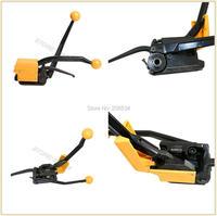 Precio ¡Envío Gratis! ¡De alta calidad! Herramientas de flejado de acero sin costura Manual A333/flejadora de acero para correa de acero de 13-19mm