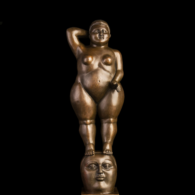 ATLIE Bronze Famous Statues Nude Fat Lady Classical Classical Female Bronze Sculpture Figurine Metal Art Collection ATLIE Bronze Famous Statues Nude Fat Lady Classical Classical Female Bronze Sculpture Figurine Metal Art Collection