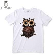 Men s T Shirt Fashion Galaxy Short Sleeve Camouflage T Shirts Night Warrior Owl font b