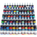 Tattoo 60 color Fusion High Quality tattoo Fusion Ink 1oz /Bottle 30ml Tattoo Pigment tattoo ink