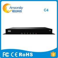 COLORLIGHT системы управления видео контроллер C4 видео плеер Box Поддержка 650000 пикселей использования с COLORLIGHT 5A i5a i5a f 5a 75