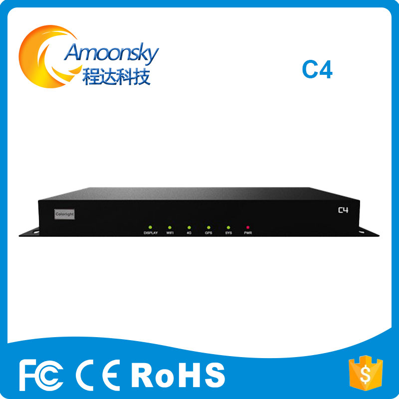 Colorlight Control System Video Controller C4 Video Player Box Support 650000 Pixels Use With Colorlight 5a I5a I5a-f 5a-75