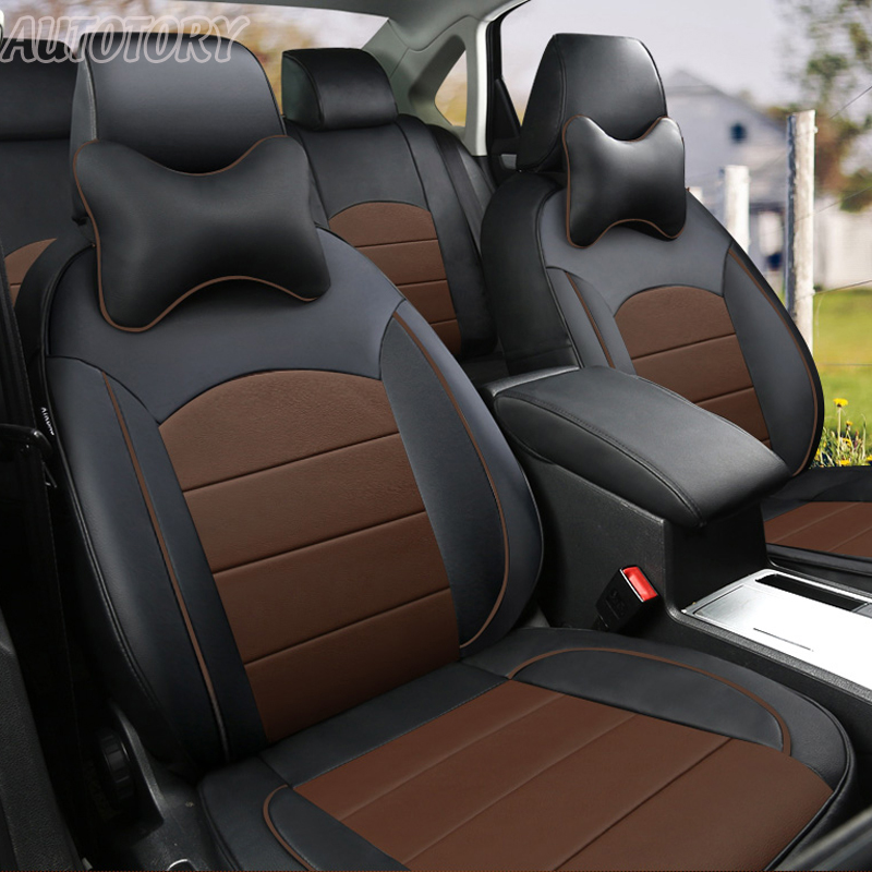 Autotory Custom Cowhide Cover Seat Car for Peugeot 307 SW Seat Covers Genuine Leather Full Cover Seat Cushion Accessorie Styling ...