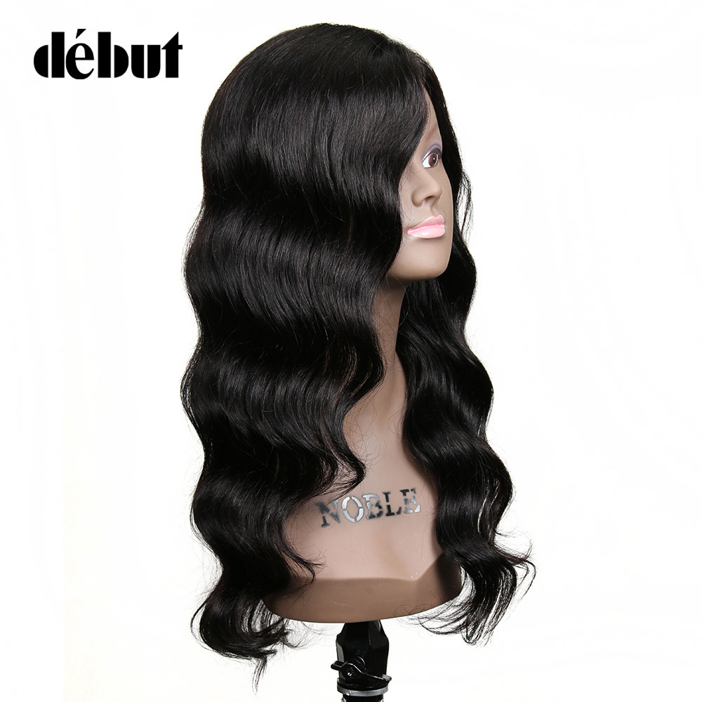 Debut Human Hair Wigs Indian Hair Wig Loose Wave Wigs For Black Women Natural Color 100% Cheap Human Hair Wigs Free Shipping