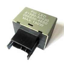 New LED Flasher Relay Fix The Signal Lights Resistor 8-Pin For  Toyota and Lexus