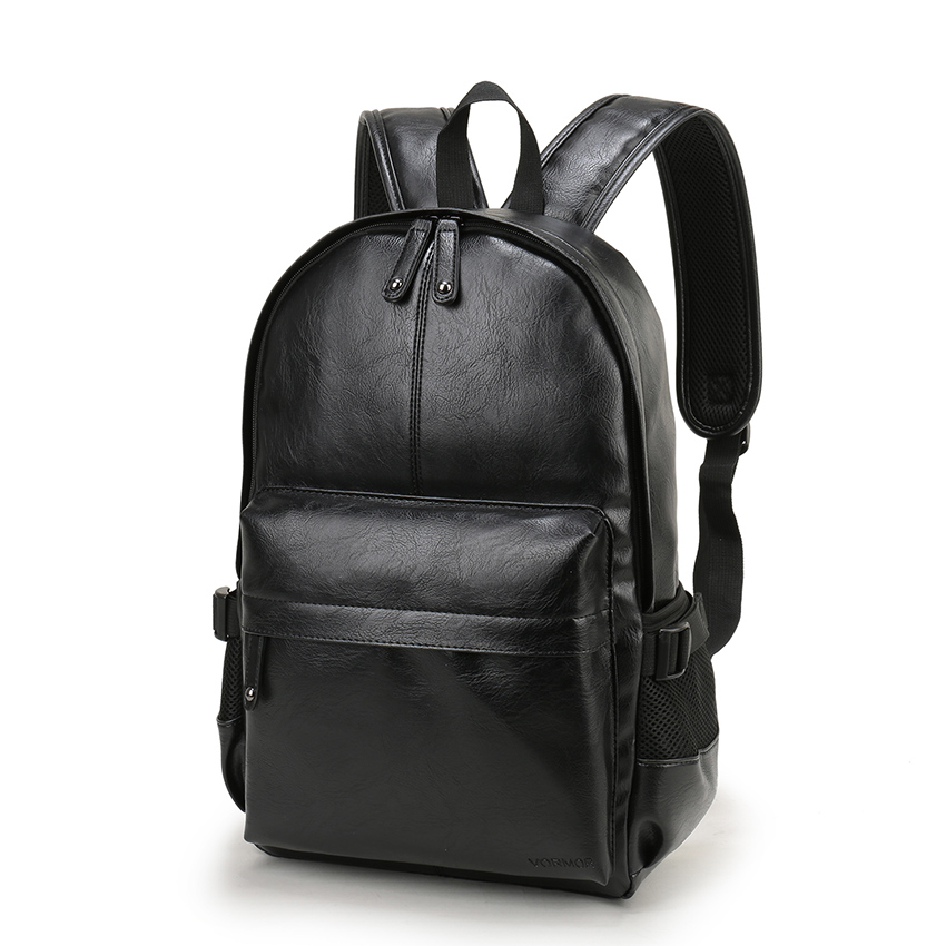 VORMOR-Brand-Preppy-Style-Leather-School-Backpack-Bag- ... a796a6d02ac84