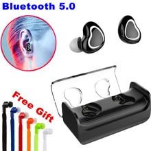 E-XY TWS Verdadeiro Fones de Ouvido Sem Fio Fones de Ouvido Bluetooth Fones de Ouvido Bluetooth & Fones De Ouvido Fone De Ouvido na Orelha com Caixa De Carregamento para Samsung
