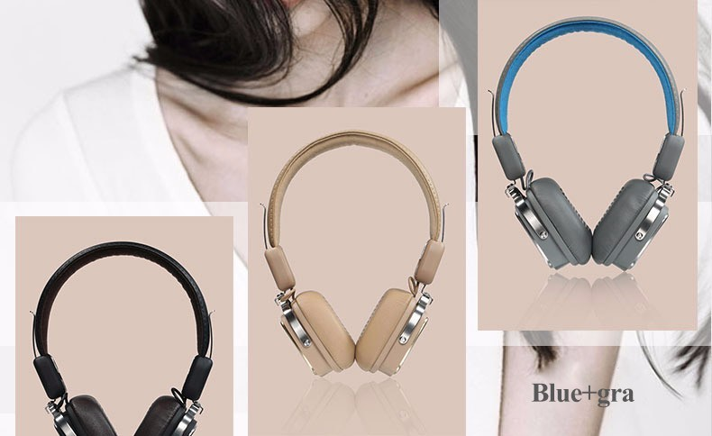 Bluetooth Headset Headband Wireless Earphone Bluetooth Stereo Headphone V4.1 for xiaomi Remax RB-200HB (29)