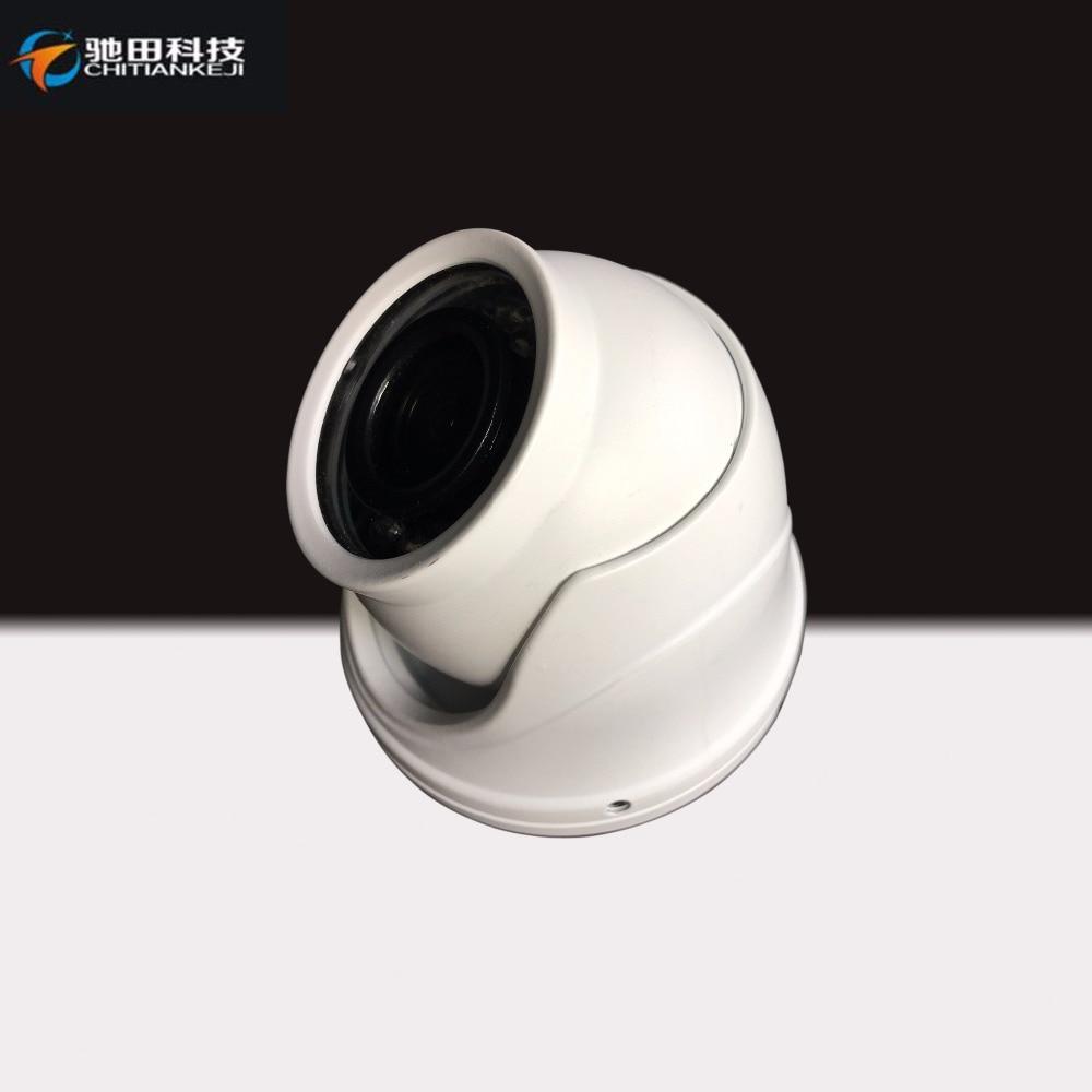 bilder für Infrarot Stoßfest metallgehäuse Videokamera 960 P AHD Mini-dome-kamera
