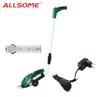 2 in 1 7.2V Electric Weeder Rechargeable Lawn Hedge Trimmer Pruning Lithium Electric Lawn Mower Garden Lawn Fence Scissors